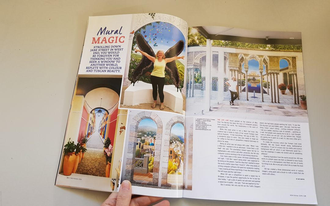 Mural Magic: West End Magazine Feature
