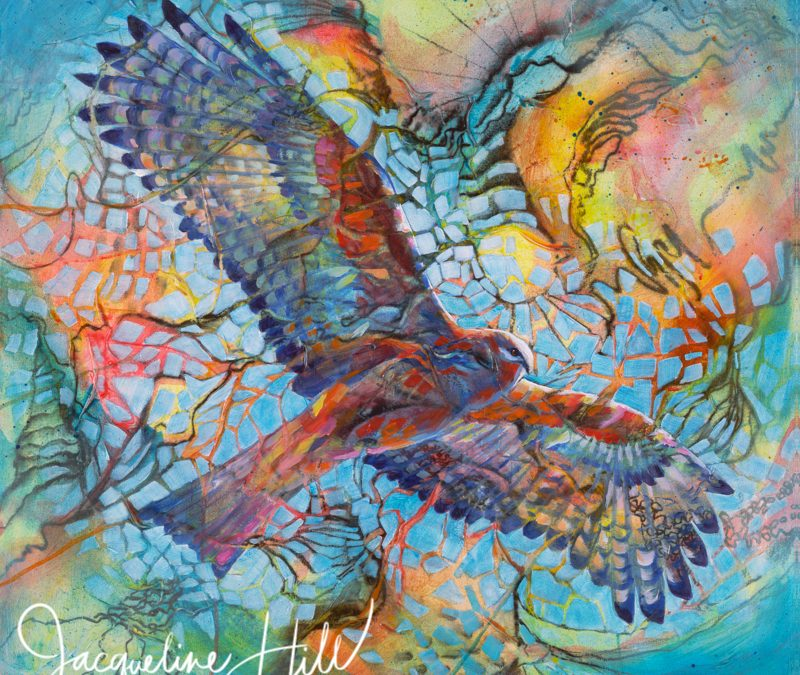 'Altitude' (Square-tailed Kite)