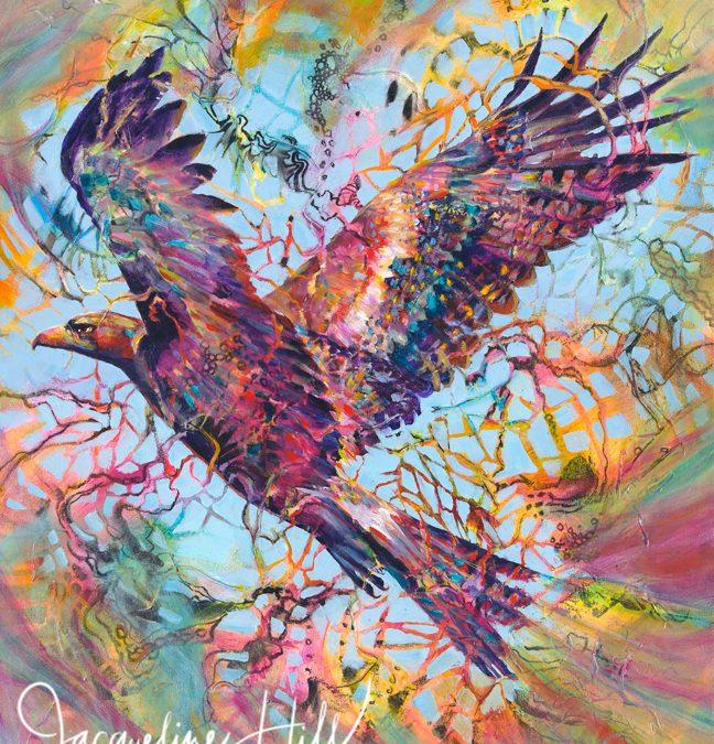 'Elevation' (Wedge-tailed Eagle)