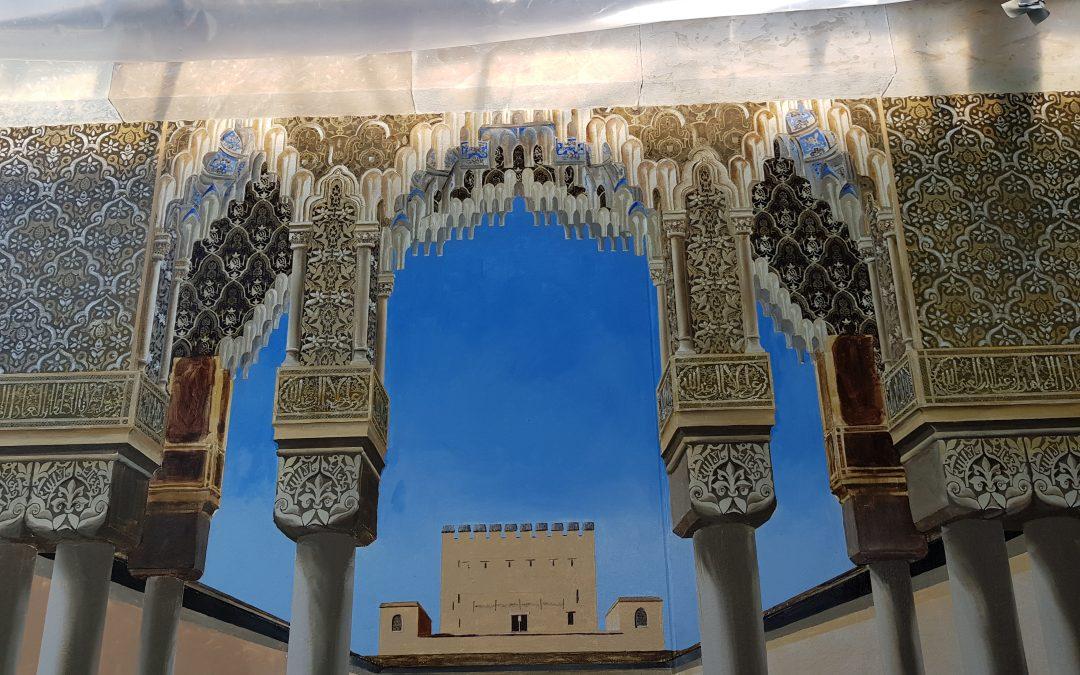 Trompe Alhambra Day 94 – The Last Tile