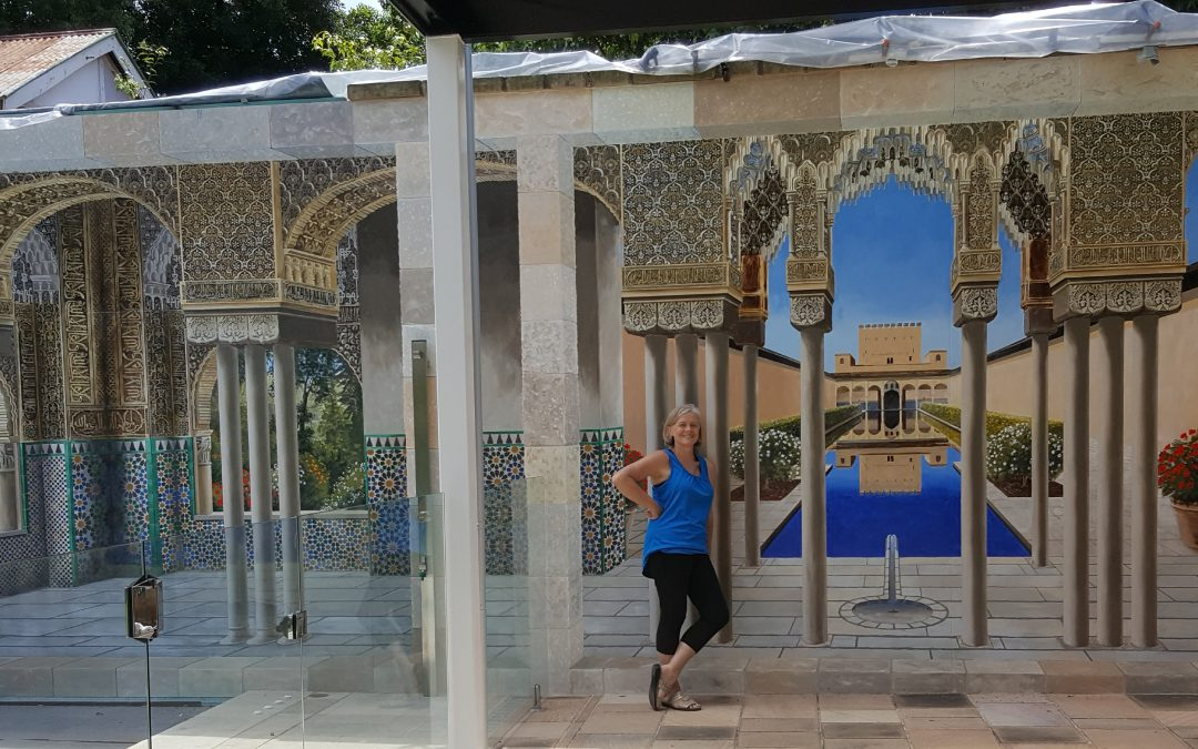 Trompe Alhambra Day 95 – Mirador Arches and Pillar Decorations
